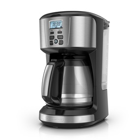 black and decker 12 cup programmable coffeemaker cm4110s