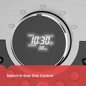 Select-A-Size Dial Control