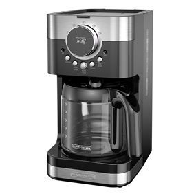 CM4200S Select-A-Size Easy Dial Programmable Coffeemaker in Silver