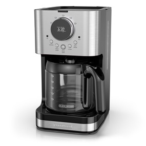 BLACK+DECKER™ Select-A-Size Easy Dial Programmable Coffeemaker, Stainless Steel, CM4202S