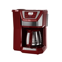 black and decker 12 cup mill & brew coffeemaker cm5000rd