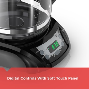 digital controls with soft touch panel dlx1050