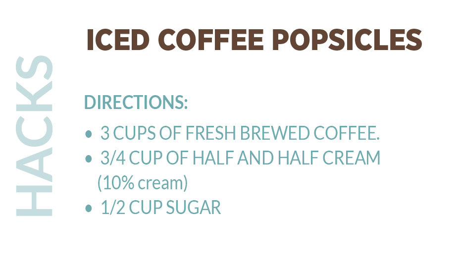 Coffee Popsicle Description