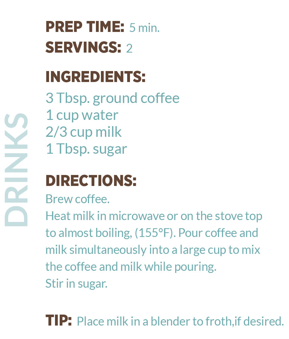 Cafe au Lait Recipe