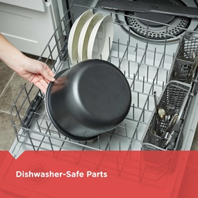 Dishwasher-Safe Parts | PR100