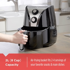 8-cup capacity