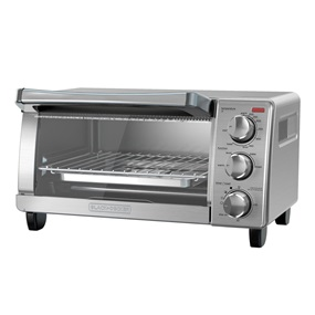 4 Slice Toaster Oven, Stainless Steel with natural convection, TO1760SS