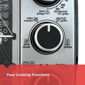 Four Cooking Functions