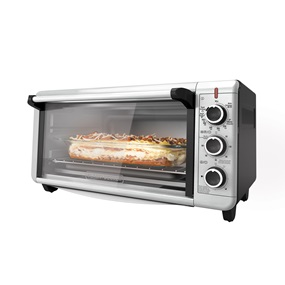 Extra Wide Toaster Oven Black Decker
