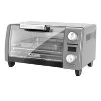 Crisp N Bake Air Fry Digital 4 Slice Toaster Oven, TOD1775G