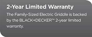 2 year limited warranty gd2051b