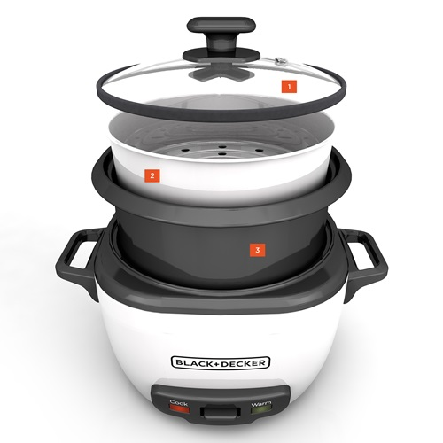 RC516 BLACK+DECKER™ 16-Cup Rice Cooker