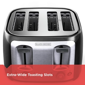 Extra-Wide Toasting Slots