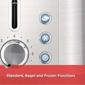 TR3500SD 2-Slice Toaster 3 Functions