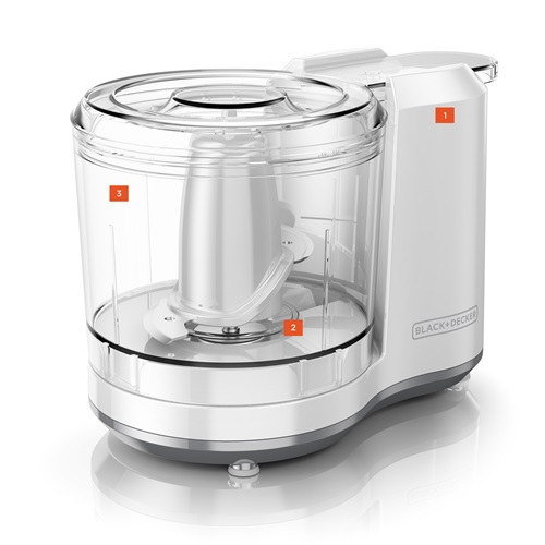 Black + Decker Food Prep Chopper HC150BW Hero