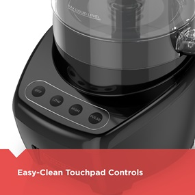 Easy-Clean Touchpad Controls