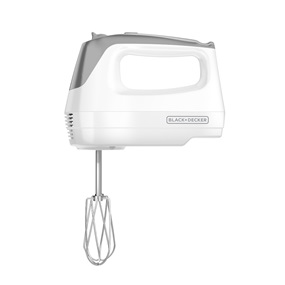 MX1500W Lightweight 5-Speed Hand Mixer, White