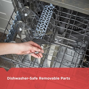 dishwasher safe parts