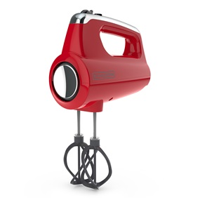 Helix Hand Mixer Red