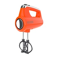 orange hand mixer
