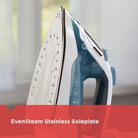 evensteam satinless soleplate