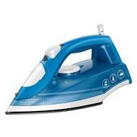 Variable Control Compact Steam Iron, Blue