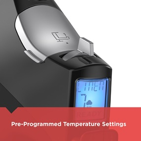 pre programed temperature settings