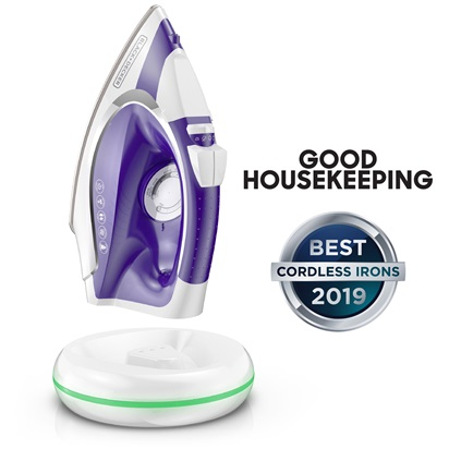 Light 'N Go Cordless Iron | Good Housekeeping Best Cordless Irons of 2019