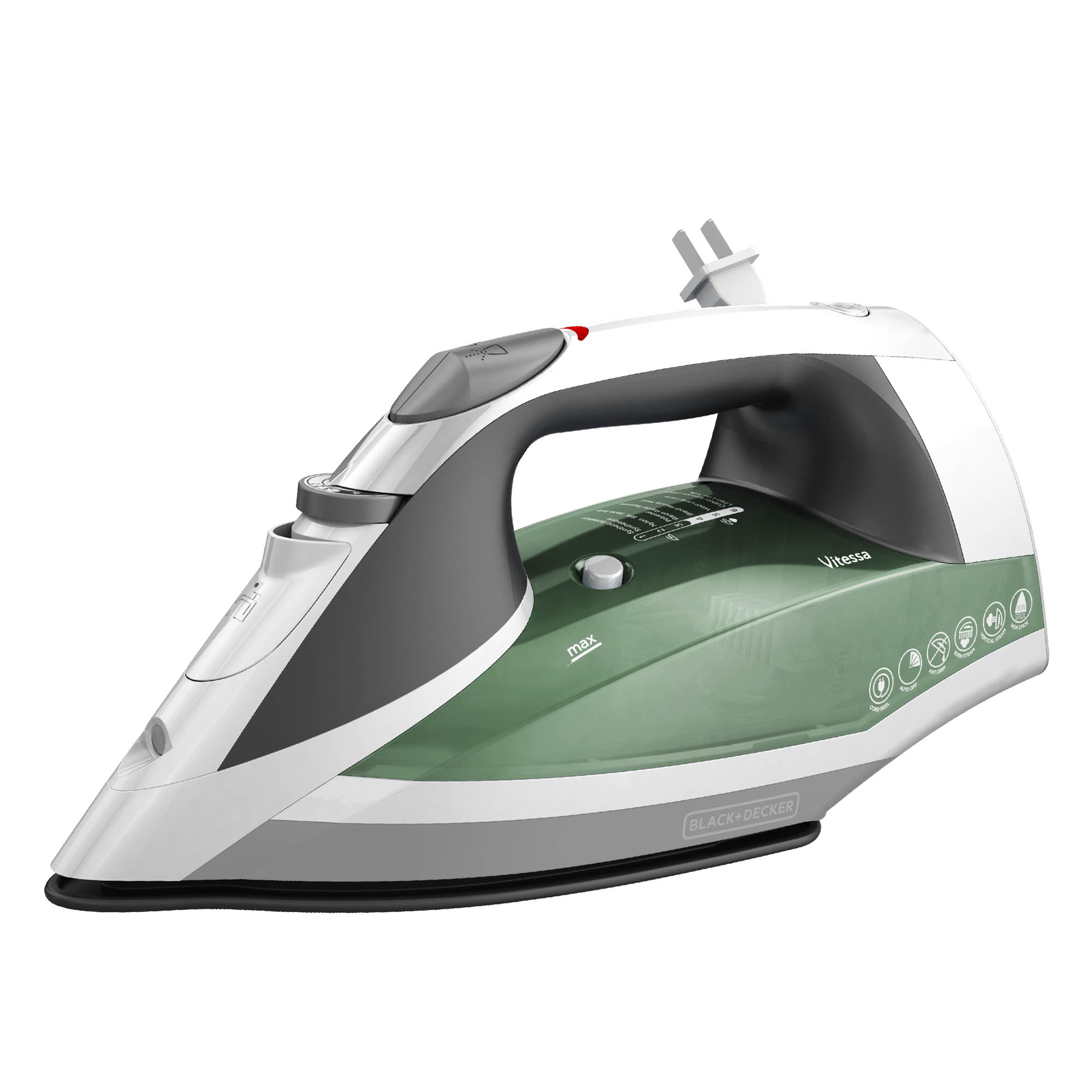 ICR2020 Vitessa™ Advanced Steam Cord Reel Iron, Green
