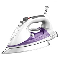 IR1350S Professional Steam Iron with Stainless Steel Soleplate