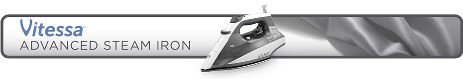 Vitessa Advanced Stainless Steel Steam Iron BLACK+DECKER™ IR2150