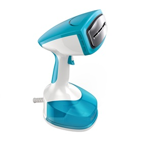 2-in-1 Steam & Iron Handheld Steamer & Press Plate, Turquoise, HGS312