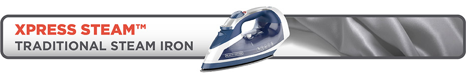 Xpress Steam. Traditional Steam Iron