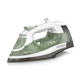 BLACK+DECKER™ One Step Steam Cord Reel Iron, Sage Green, ICR17X