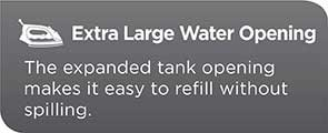 extra large water opening ir08x