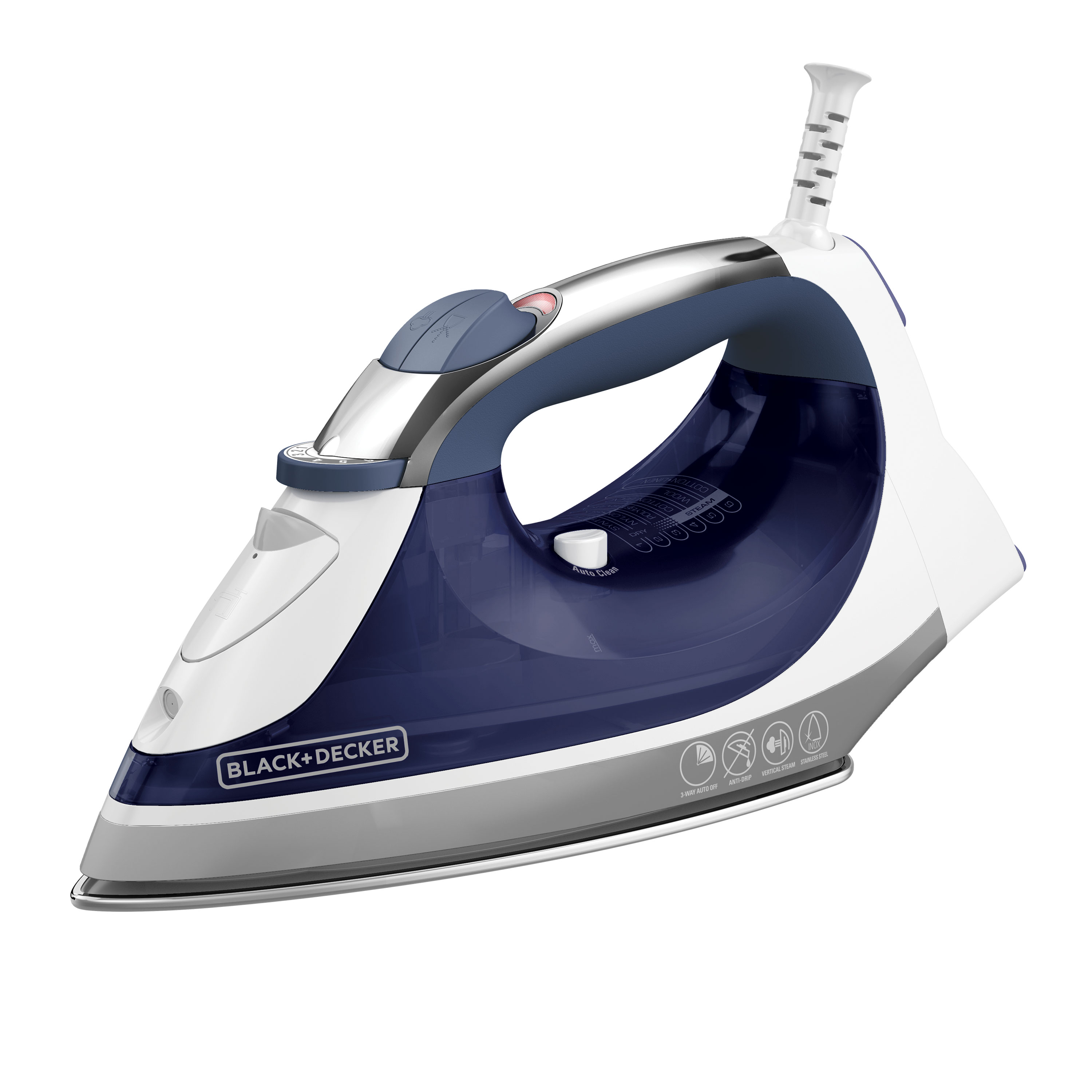 black and decker xpress steam iron ir08x
