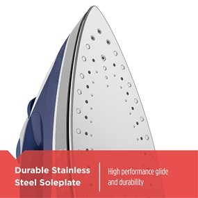 Durable Stainless Steel Soleplate high performance glide and durability