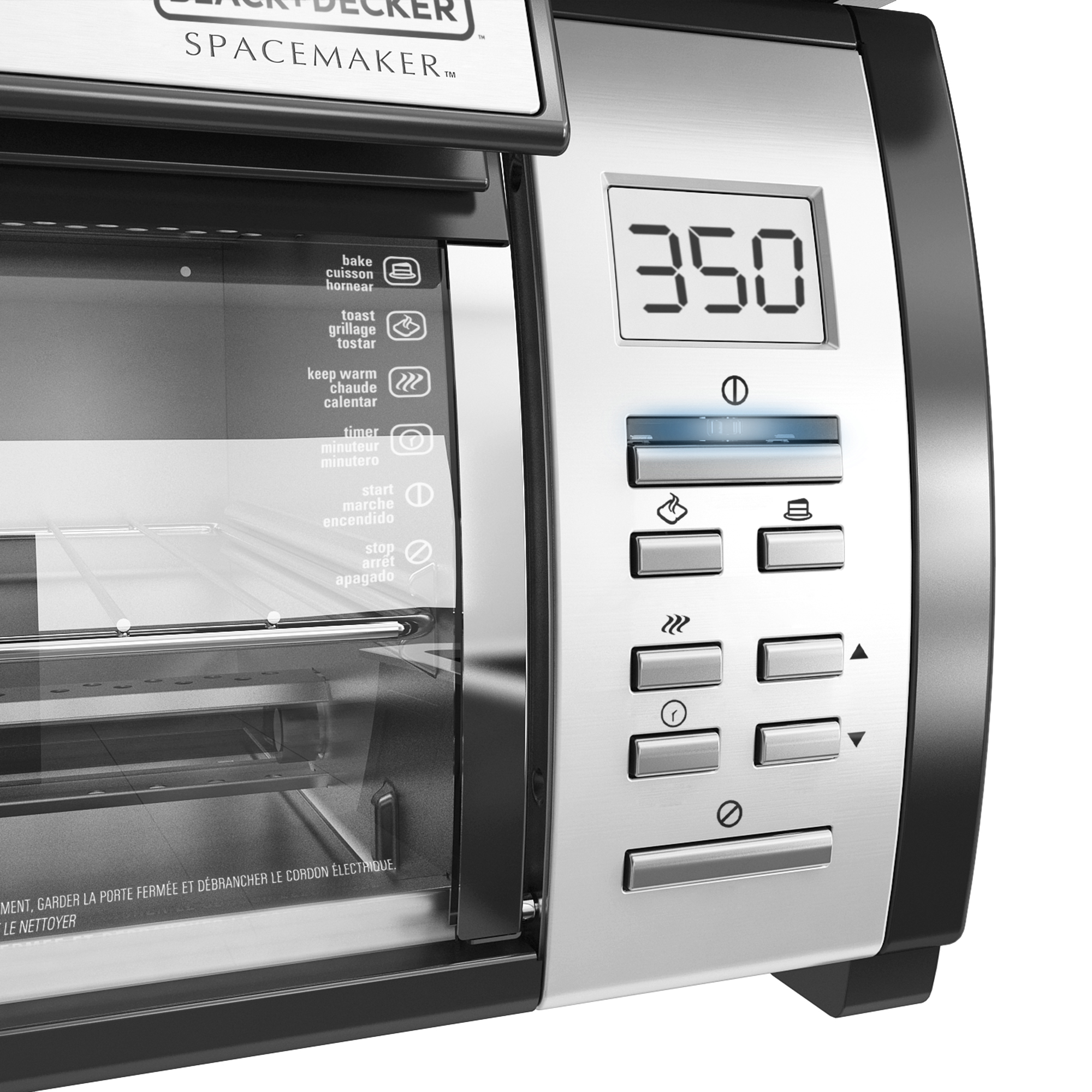 Exceptionnel SpaceMaker™ Under The Cabinet 4 Slice Toaster Oven