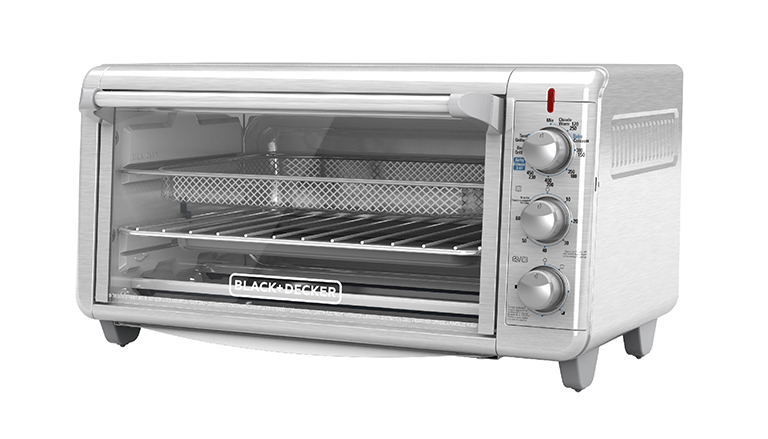 Extra Wide Crisp 'N Bake Air Fry Toaster Oven