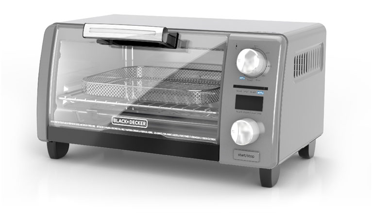 Crisp 'N Bake 4-Slice Digital Air Fry Toaster Oven