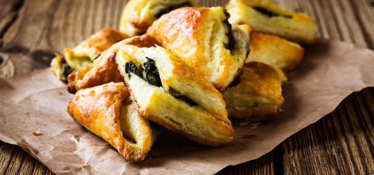Spinach and Cheese Pockets