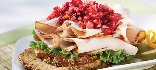 Cranberry Relish Sandwich