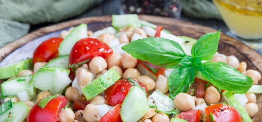 Garbonzo Bean Salad