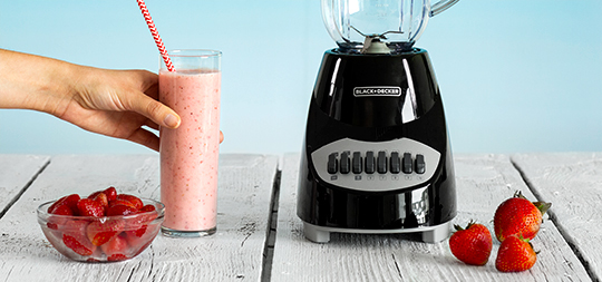 BLACK+DECKER Strawberry Smoothie Recipe