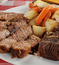 BLACK+DECKER™ Beef Pot Roast Wifi Slow Cooker Recipe