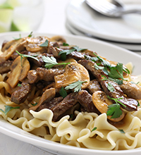 BLACK+DECKER™ Beef Stroganoff Wifi Slow Cooker Recipe