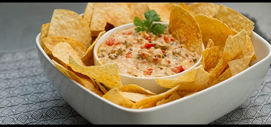 Cheesy Hamburger Dip