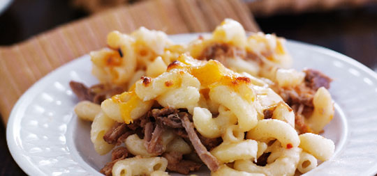 Pork Mac and Cheese