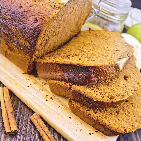 Gluten Free Apple Spice Bread