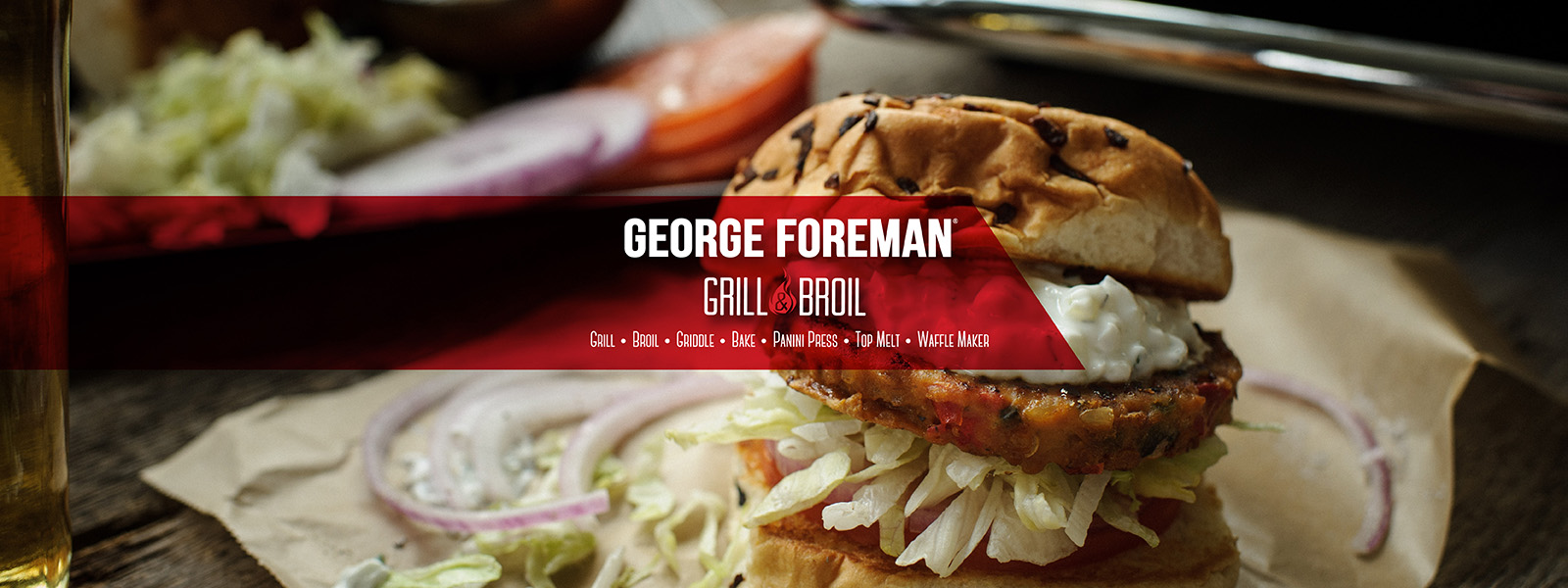 George Foreman Grill and Broil